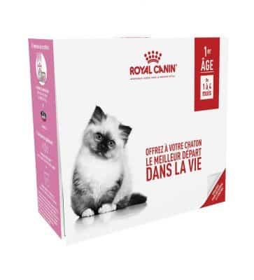 Découvrez les Coffrets Croissance pour votre chat !